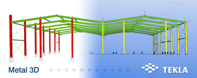 Exportación a TEKLA® Structures de las estructuras 3D integradas de CYPECAD® y CYPE 3D®